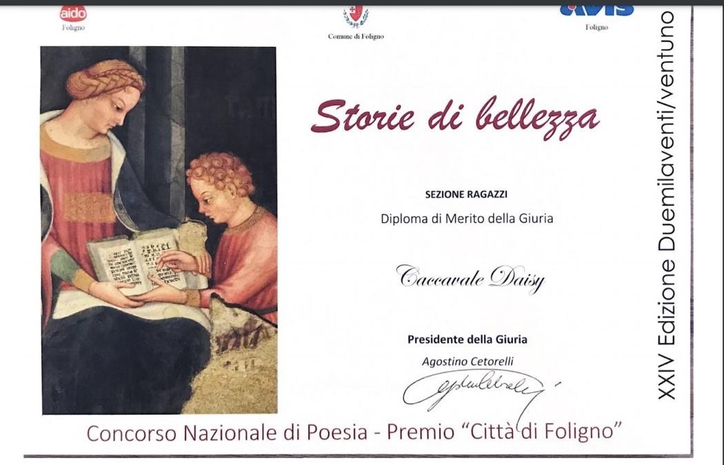 Concorso nazionale di poesia Città di Foligno
