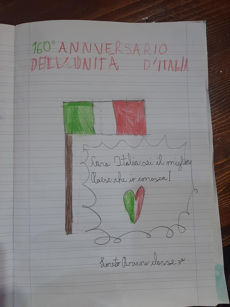 160° Anniversario dell'Unità d'Italia  e  Giornata nazionale delle vittime del Covid - 19
