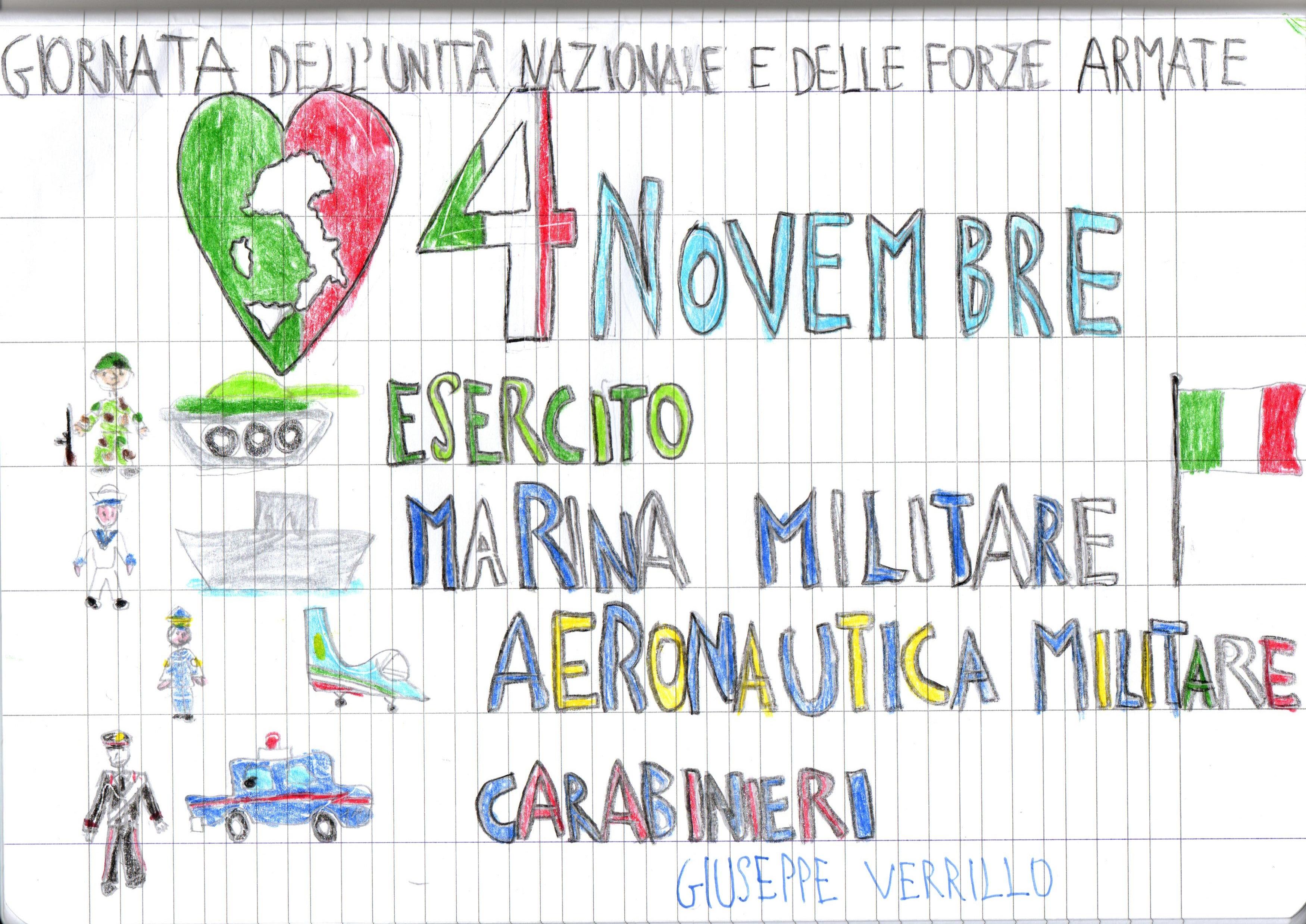 """Celebrazione della """"Giornata delle Forze Armate..."""