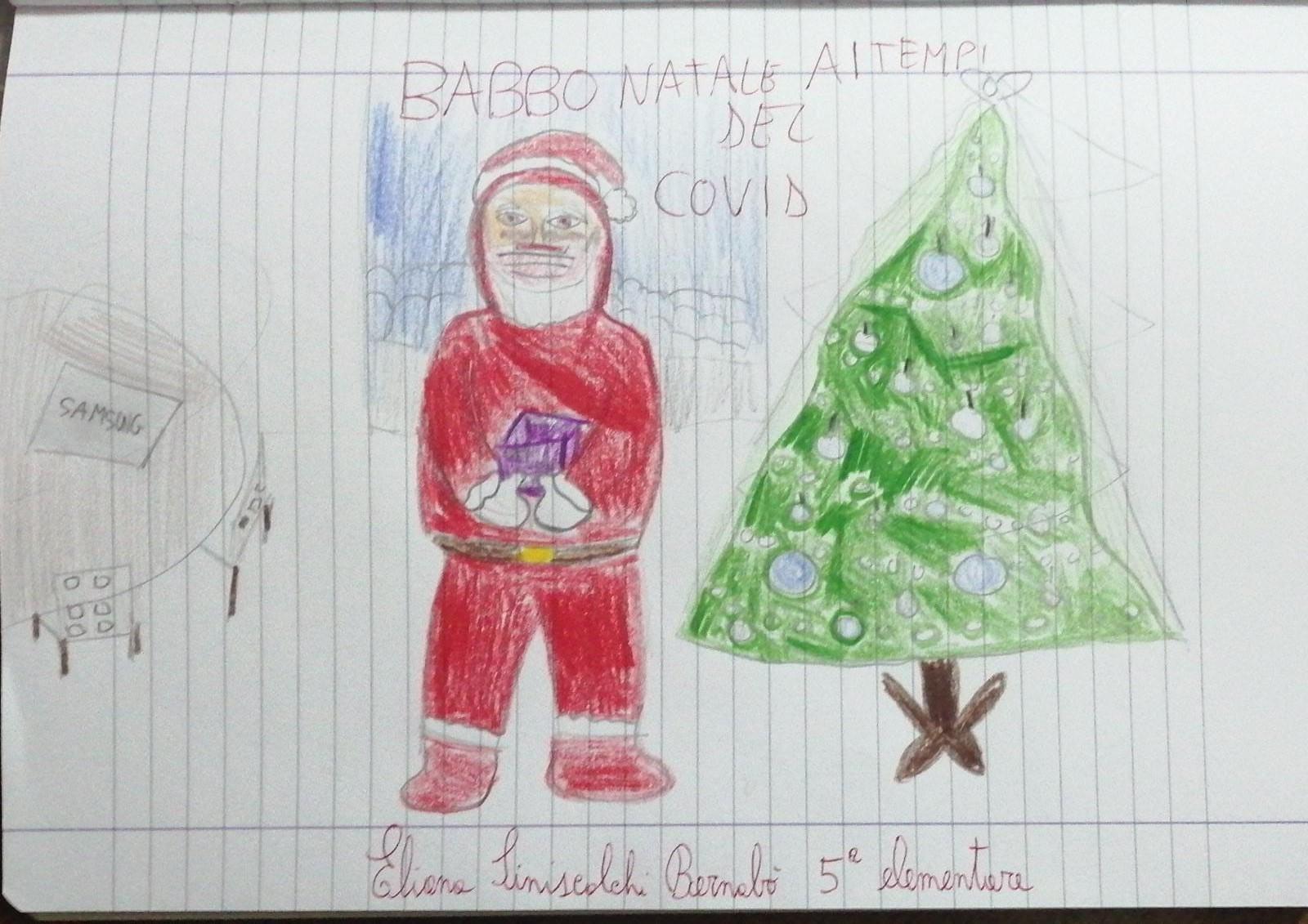 Babbo Natale ai tempi del Covid