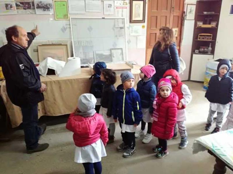 Scuola dell'Infanzia di Squille – Visita all'azienda agricola